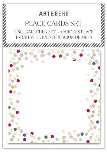 Place cards confetti 10 pcs.