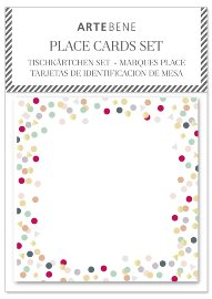 Place cards confetti 10 pcs.