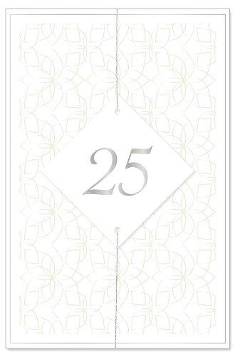 Wedding card 25 years 3D
