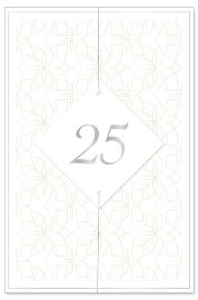Wedding card 25 years 3D
