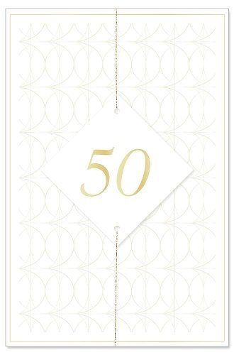 Wedding card 50 years 3D