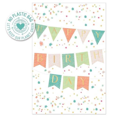 Birthday card garland