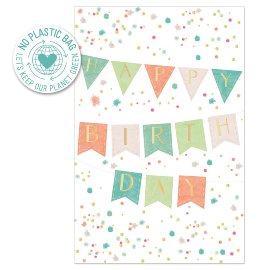 Birthday card garland