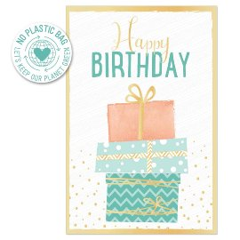 Birthday card packages