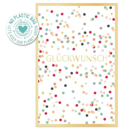 Greeting card confetti