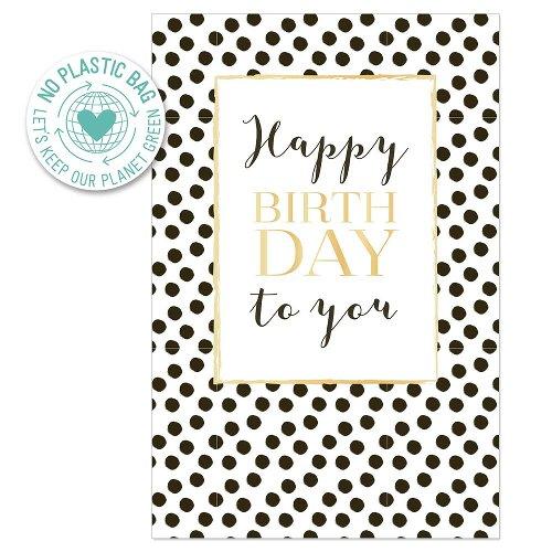 Birthday card dots