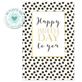 Birthday card dots