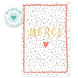 Greeting card merci
