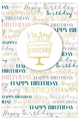 Geburtstagskarte Happy Birthday Torte 3D