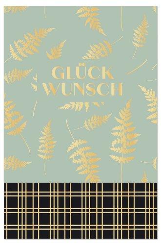 Congratulations card Glückwunsch fern