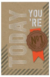 Geburtstagskarte Spruch Today You're No1