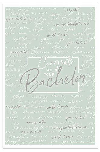 Card congrats to your bachelor
