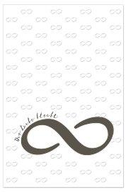 Trauerkarte Unendlichkeit Spruch Die Liebe Bleibt