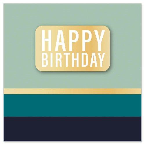 Mini card Happy Birthday 3D