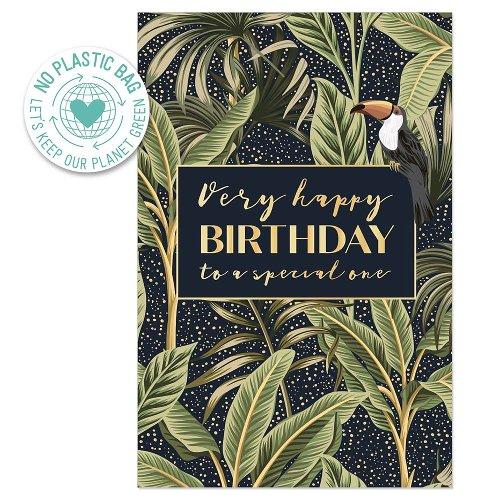 Birthday card jungle