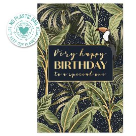 Birthday card jungle