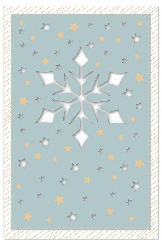Christmas card Snowflake