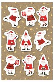 Christmas card Santa 3D