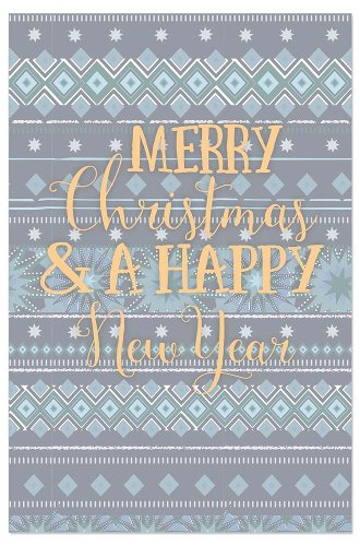 Christmas card saying