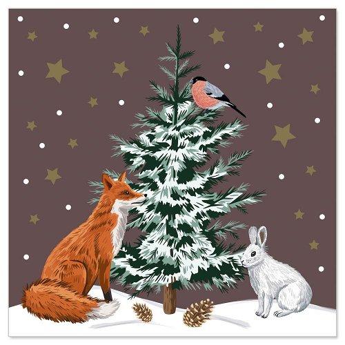 Mini card Santa Claus 3D
