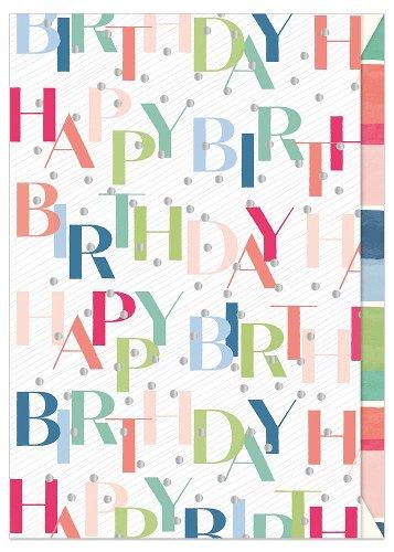 Geburtstagskarte Happy Birthday Dots