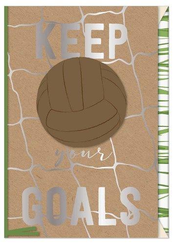 Greeting card keep your goals 3D