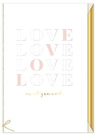 Wedding card Love is all you need