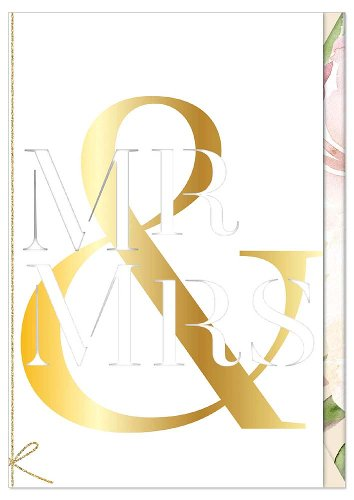 Wedding card Mr & Mrs