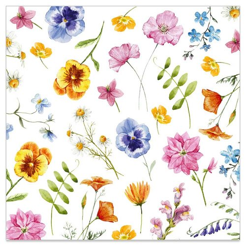 Minikarte Blütenregen