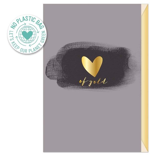 Greeting card heart of gold