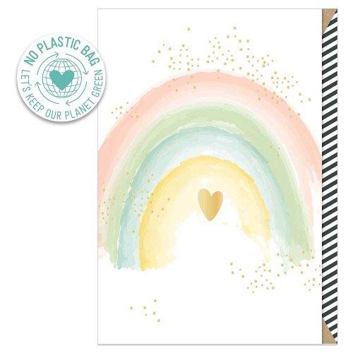 Greeting card rainbow