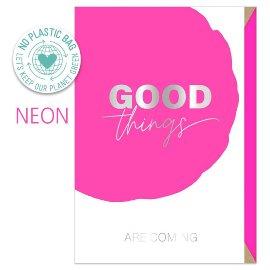 Greeting card good things
