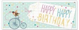 Karte Din Lang Birthday