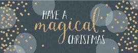 Weihnachtskarte Magical Christmas