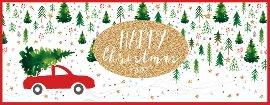 Weihnachtskarte Happy Christmas
