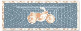 Grußkarte DIN lang Motorrad