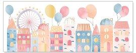 Geburtstagskarte DIN lang Stadt