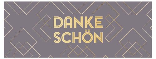 Greeting card DIN long Dankeschön