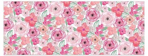 Grußkarte DIN lang Blüten Rosa