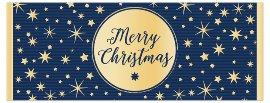 Weihnachtskarte Merry Christmas Sterne