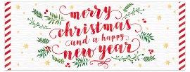 Weihnachtskarte Merry Christmas Happy New Year