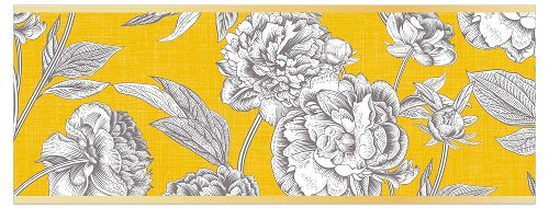Greeting card DIN long Blossom