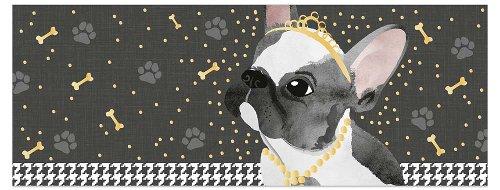 Grußkarte DIN lang Doggy Chérie