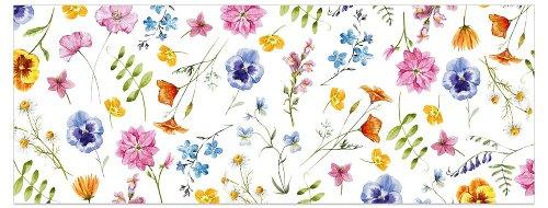 Greeting card DIN long Flowering meadow
