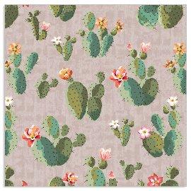 Serviette Kaktus Taupe