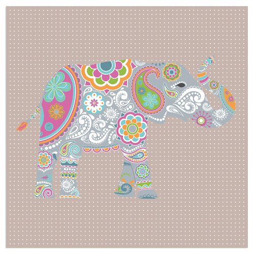 Serviette Elefant Taupe