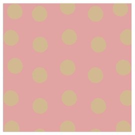 Napkin dots rose