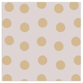 Napkin dots taupe