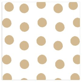 Napkin dots white