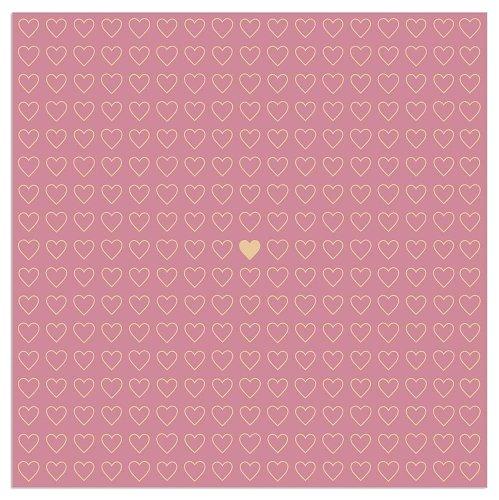 Napkin heart berry